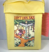 Earth Image Designs Mary Engelbreit Lunch Bag Yellow Don't Look Back Vin... - $19.79