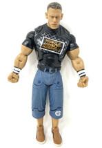 "WWE 2005 John Cena 7"" Jakks Wrestling Figure Collectible Hustle Loyalty Respect  - $6.80"