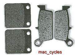 Honda Disc Brake Pads CRM50 1988-1992 & 1994-1996 Front & Rear (2 sets)