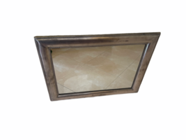"Framed Silver Wall Mirror 23"" x 30"" Original Price $199 Rectangular Rectangle image 12"