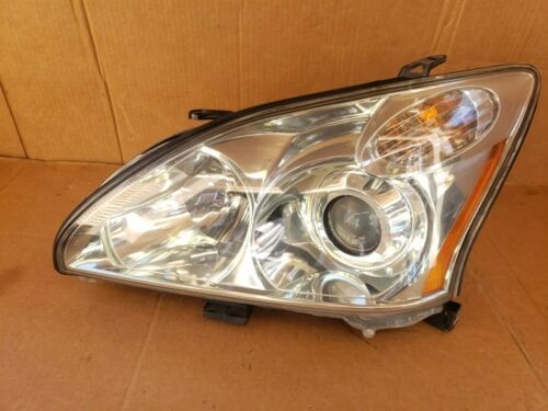 04-09 Lexus RX330 RX350 HID Xenon AFS Headlight Driver Left LH POLISHED
