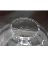 """Wedgwood Round Glass Optic Bowl 9"""" Diameter Beautiful  - $14.99"""