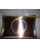 3 NEW STAINLESS STEEL SERVING TRAYS Rectangular Commercial Quality - $14.29
