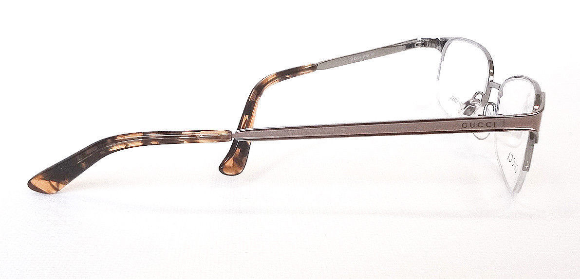 GUCCI Frame Glasses GG4206/Y STAINLESS STEEL Blush Ruthen MADE IN ITALY - New!