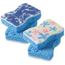 Magic Scrub Sponge Pads, CLEAN&CHEER Universal No Scratch Odor Free Soft... - $15.36