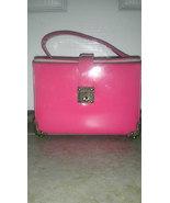 Antique Lewis Pink Patent Box Purse - Rare - $39.99