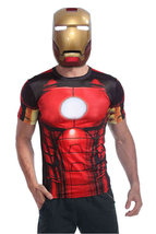IRON MAN 1:1 Wearable Cosplay Helmet Luminous Eyes High Quality Mask