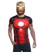IRON MAN 1:1 Wearable Cosplay Helmet Luminous Eyes High Quality Mask - $246.99