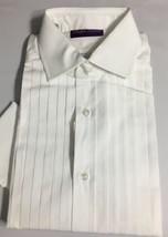 Ralph Lauren Purple Label Tuxedo Shirt Mens 15 White French Cuff - $535.50