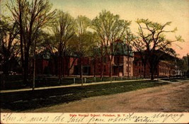 VINTAGE POSTCARD- STATE NORMAL SCHOOL, POTSDAM, NY - MADE IN GERMANY BK21 - $4.17