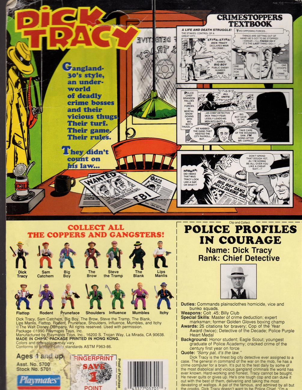 Dick Tracy Figure 118
