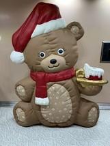 Ceramic Christmas Bear - $32.73