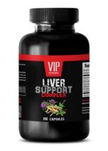 anti inflammatory herbal blend - LIVER COMPLEX 1200MG - milk thistle powder - 1B - $15.85