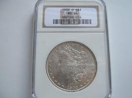 1902-O, Morgan Silver Dollar , NGC , MS 64 - $90.00