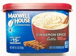 Maxwell House Cinnamon Spice Latte 9.1 oz. (Pack of 2) - $15.34
