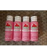 NEW Lot Matte Acrylic Craft Paint Pink Eraser 2 fl. oz. each (8 oz. total) - $17.63