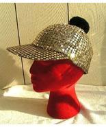 Gold Metallic Glamour Baseball Cap - $10.00