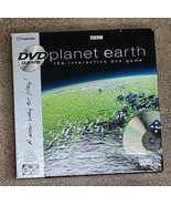IMAGINATION BBC PLANET EARTH INTERACTIVE DVD GAME AGES 6 BRAND NEW - $27.48