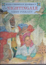 The Nightingale Jerry Pinkney Hans Christian Andersen Morocco Hardcover ... - $16.82