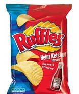 Ruffles Potato Chips From Greece with Ketchup - 10 Packs X 72g (2.5 Ounces Per P - $59.39