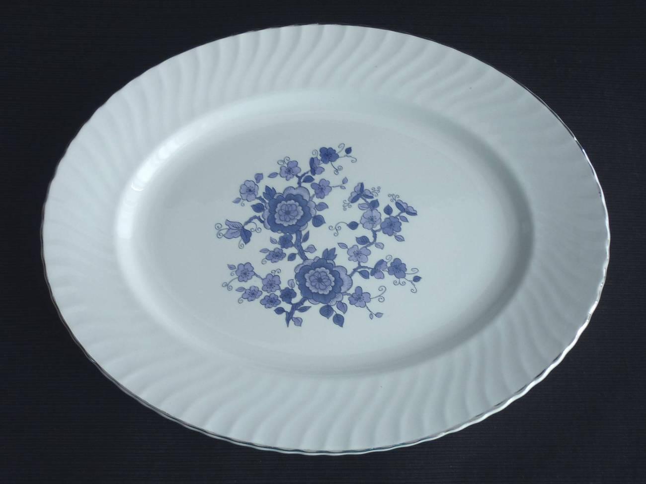 Wedgwood blue platter 1