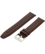 Hadley-Roma Men's 20mm Leather Watch Strap, Color:Brown (Model: MSM... S... - $16.58