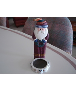 Christmas Holiday Figural Santa Votive Candle Cup Holder - $7.99