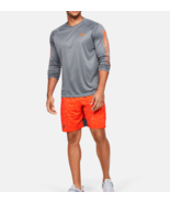 Under Armour Mens UA HeatGear Stretch Train Tapout Shorts 1351808-856 Or... - $24.98