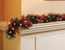 18' Holiday Time Multi Color Pre-Lit Garland - $42.90