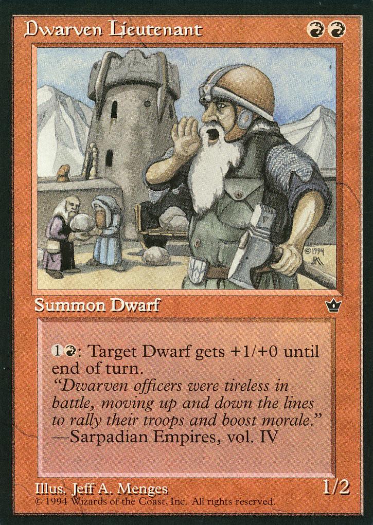 Mtg dwarv