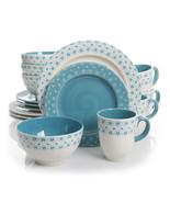 Gibson General Store 16 Piece Cottage Chic Ceramic Dinnerware Set - $91.84