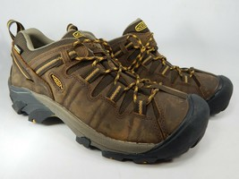 Keen Targhee II Low Top Size US 10 2E WIDE EU 43 Men's WP Hiking Shoes 1015704EE