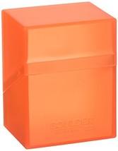 Ultimate Guard Deck Box Boulder Standard 80+ Poppy Topaz Orange Collecti... - $10.74