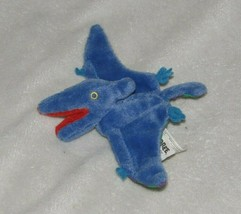 Vintage Gymboree Pteranodon Pterodactyl Stuffed Plush Crinkle Finger Pup... - $19.79
