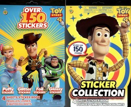 Disney Pixar Toy Story 4 - Over 150 Includes Puffy Stickers Collection Book Set  - $12.86