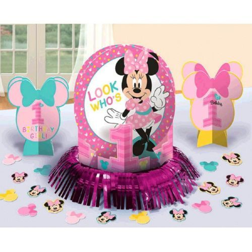 Minnie Mouse Fun To Be One Table Decorating Kit Birthday