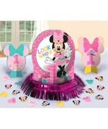Minnie Mouse Fun To Be One Table Decorating Kit Birthday - $12.85 CAD