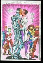 New Titans #106 Production Art Dc Color Guide - $303.13