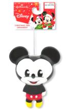 Hallmark Disney Mickey Mouse Decoupage Christmas Ornament New with Tag image 3