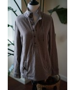 BANANA REPUBLIC WOMENS SMALL BROWN FAWN PULLOVER with collar - $16.77