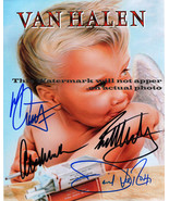 Eddie Van Halen David Lee Roth Alex  Michael Autographed Signed 8 x 10 P... - $11.95