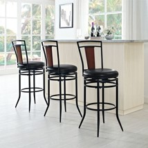 Crosley Soho Black Swivel Bar Stool - $123.75