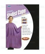 Dream Deluxe Stylist Cape Easy Clip Salon Barber Lightweight 100% Nylon ... - $19.95