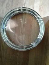 Motorcycle Wheel Rim - Silver - steel. 40 spoke holes 16x3.0