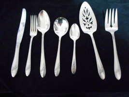 Oneida Community Tudor Queen Bess II  silver plate 1946 flatware Pcs choice - $5.30+
