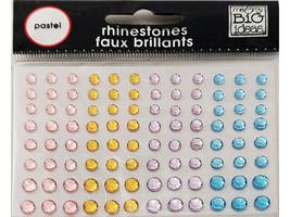 MAMBI Pastel Rhinestone Stickers, A Beautiful Life #6133