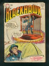 BLACKHAWK COMICS #113 1957-CELLBLOCK IN THE SKY-DC COMICS-fair FR - $24.83