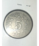 1867 Shield Nickel no Rays  - $14.99