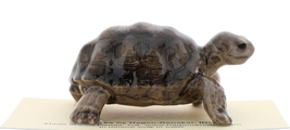 Hagen-Renaker Miniature Ceramic Turtle Figurine Desert Tortoise image 4