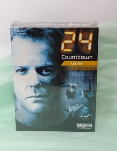 BRIARPATCH 24 HOUR COUNTDOWN GAME 2006 SEALED AGES 12+ 2-4 PLAYER PAUL MICARELLI